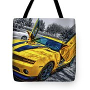 Transformers Bumble Bee 2 Tote Bag