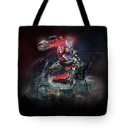 Transformers Dark Of The Moon Tote Bag