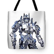 Transformers Optimus Prime Or Orion Pax Graphic  Tote Bag