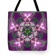 Transition Flower 5 Beats Tote Bag