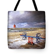 Transition Of Seasons Tote Bag