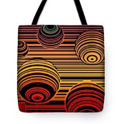 Transitional Flow Map Tote Bag