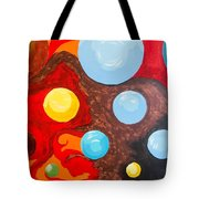 Transitions Time Space And Visions Of November Tote Bag
