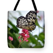 Translucent Butterfly Tote Bag