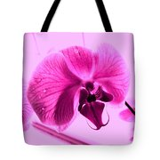 Translucent Purple Petals Tote Bag