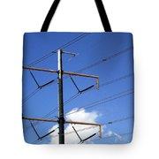 Transmission Lines Tote Bag
