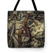 Transport By Bicycle In China Tote Bag
