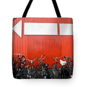 Transportation And Direction Tote Bag