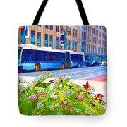 Transportation In New York 4 Tote Bag