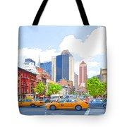 Transportation In New York 8 Tote Bag