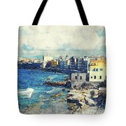 Trapani Art 19 Sicily Tote Bag