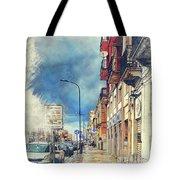 Trapani Art 20 Sicily Tote Bag