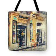 Trapani Art 21 Sicily Tote Bag