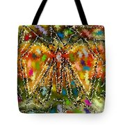 Trapped Butterfly Tote Bag