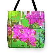 Trapped Flowers Tote Bag