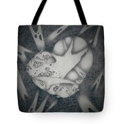 Corrupted Heart Tote Bag