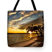 Trapped Sunset Tote Bag