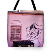 Trashed Audience Tote Bag