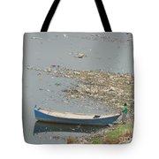 Trashy River Tote Bag