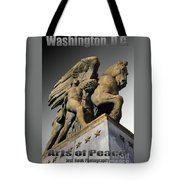 Travel-arts Of Peace Tote Bag