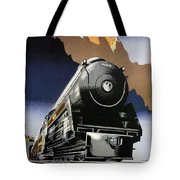 Travel Canadian Pacific Across Canada - Steam Engine Train - Retro Travel Poster - Vintage Poster Tote Bag