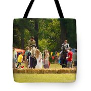 Travel In Time To Renaissance Tote Bag