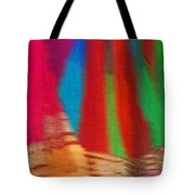 Travel Shopping Colorful Scarves Abstract Series India Rajasthan 1b Tote Bag