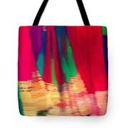 Travel Shopping Colorful Scarves Abstract Series Square India Rajasthan 1h Tote Bag