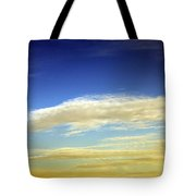 Travel Through Clouds Tote Bag