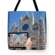 Travel To Siena Concept Tote Bag