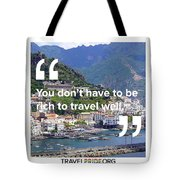 Travel Well Tote Bag