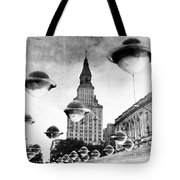 Travelers Insurance Tower Tote Bag