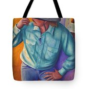 Travelin Man Tote Bag