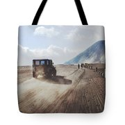 Traveling And Exploring Indonesian Volcanoes Tote Bag