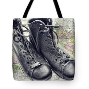 Traveling Boots Kentucky Tote Bag