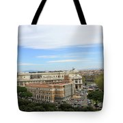 Traveling Clouds Tote Bag