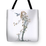 Traveling Companion Re-imagined Tote Bag
