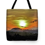 Traveling Sunrise Tote Bag