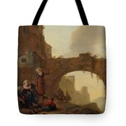 Travellers At Rest Tote Bag