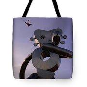 Travelling Man Tote Bag