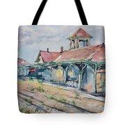 Traverse City Train Depot Tote Bag