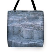 Mammoth Hot Springs Travertine Terraces Two Tote Bag