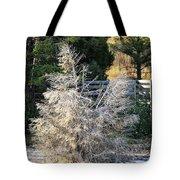 Travertine Tree Tote Bag