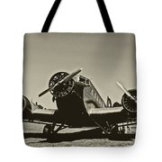 Travelling Through Time Tote Bag