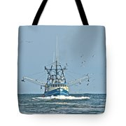 Trawler Homeward Bound Tote Bag