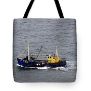 Trawling Off The Dingle Peninsula In Ireland Tote Bag