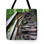 Treacherous Hike Tote Bag