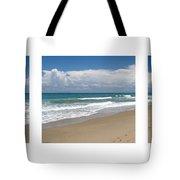 Treasure Coast Beach Florida Seascape C4 Triptych 2 Tote Bag