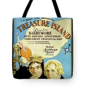 Treasure Island 1934 Tote Bag