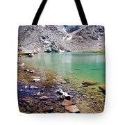 Treasure Lake 3 Rocky Shoreline Tote Bag